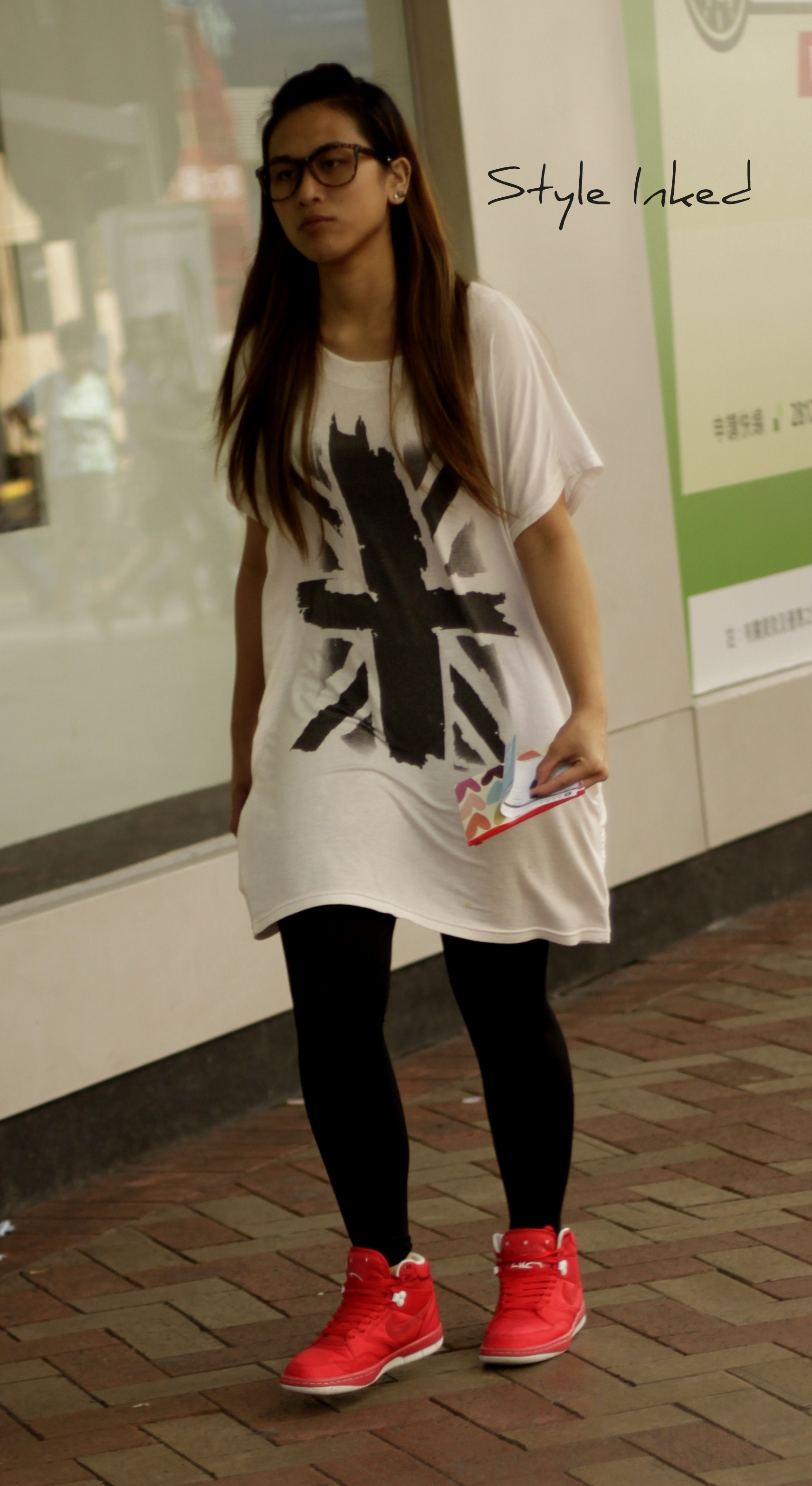 Hong Kong Street Fashion Style Inked