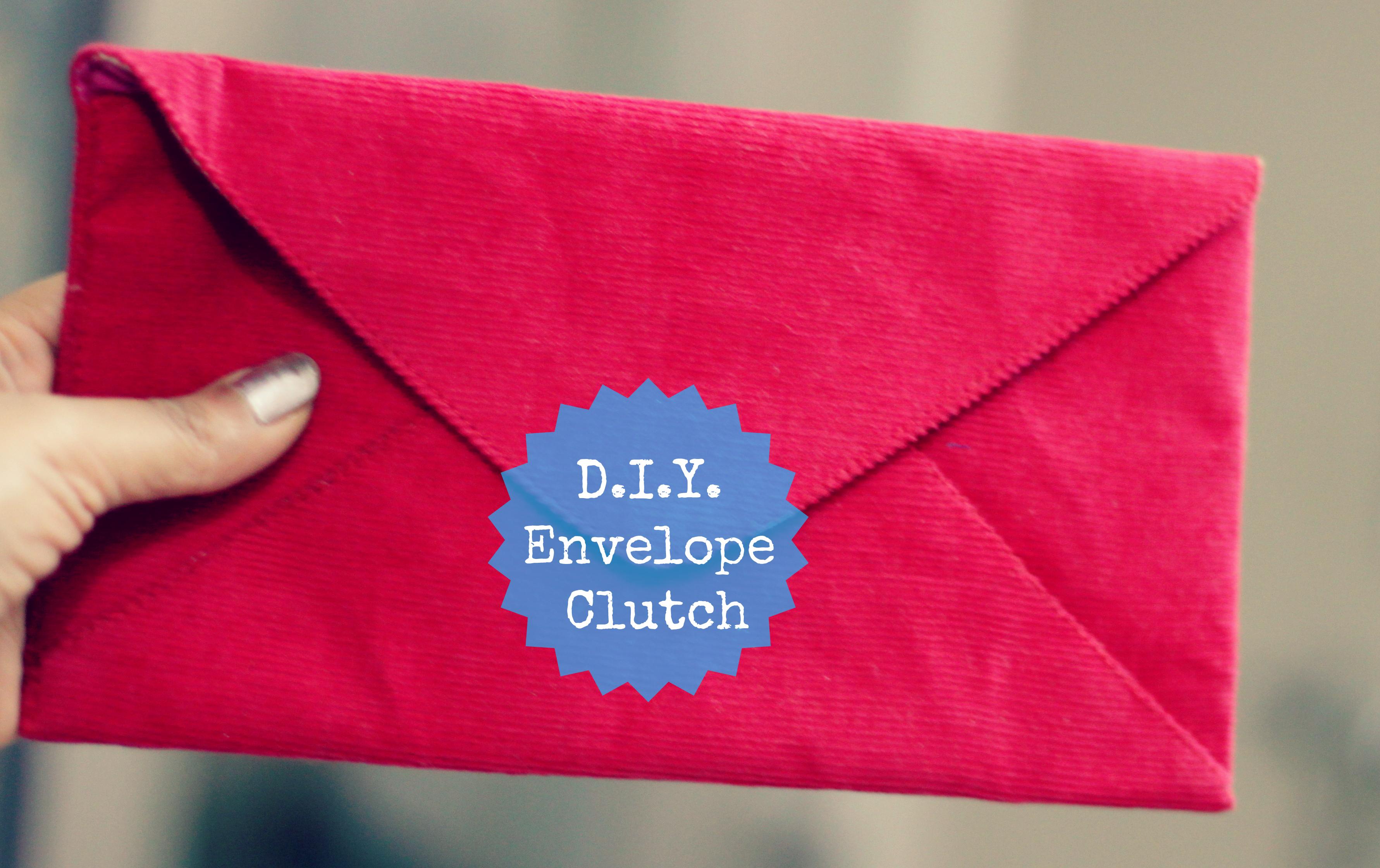DIY Envelope Clutch - Style Inked