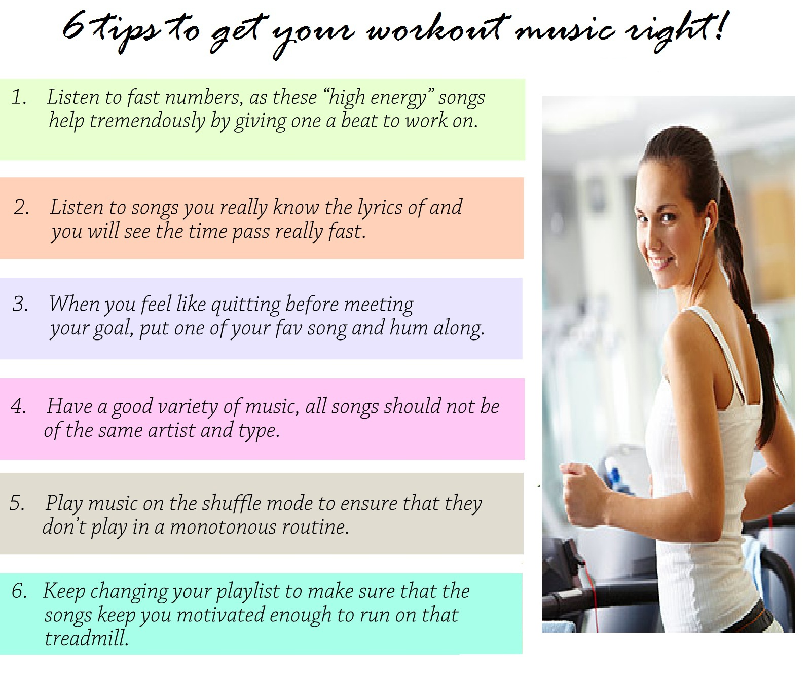 Tips to get your Workout Music Right!  Style Inked