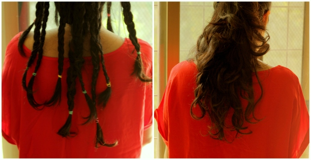 Braided Wavy Hair
