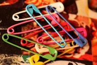 Colored Safety Pins