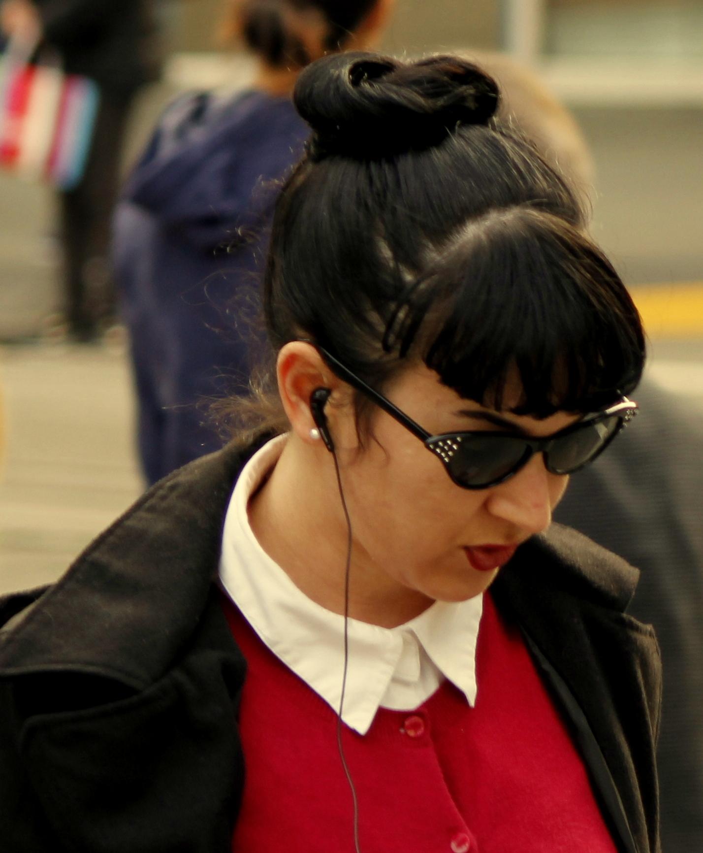 Fringe Hairstyle Girl