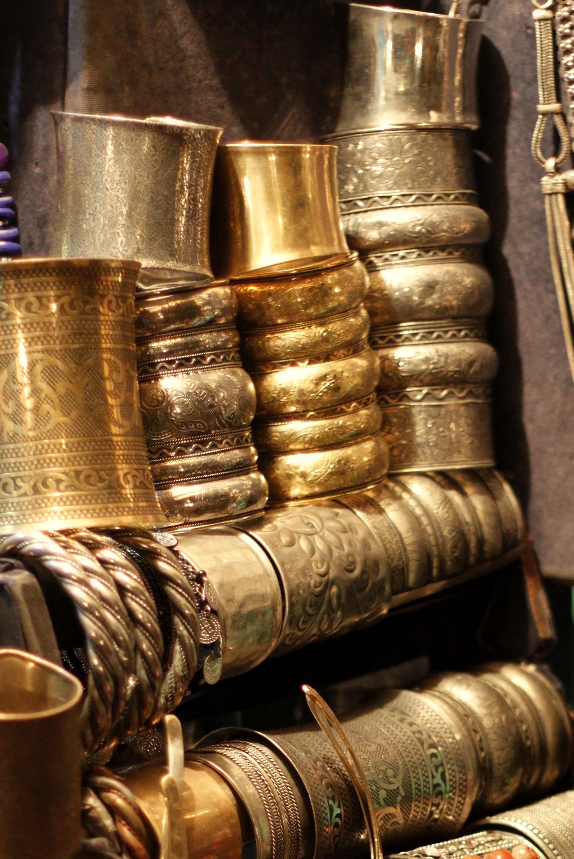 Metallic Bangles Janpath delhi